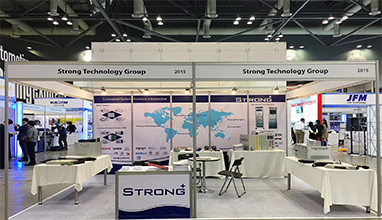 Shanghai Strong auf der Automotive Testing Expo Korea