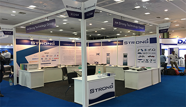 Shanghai Strong auf der Automotive Testing Expo Indien